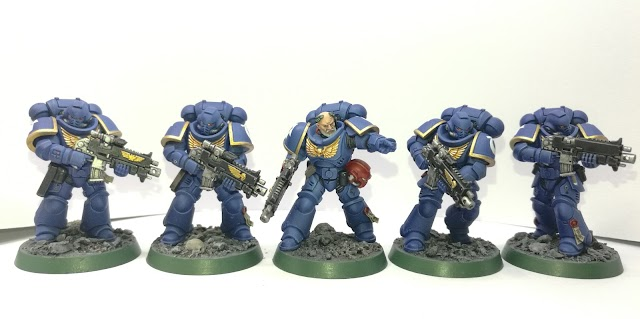 What's On Your Table: Ultramarine Intercessor Squad