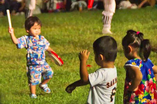 children, dance, Eisa, drums, festival, matsuri, Okinawa