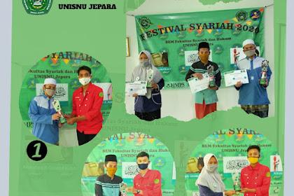 BEM FSH Umumkan Juara Lomba Festival Syariah 2020