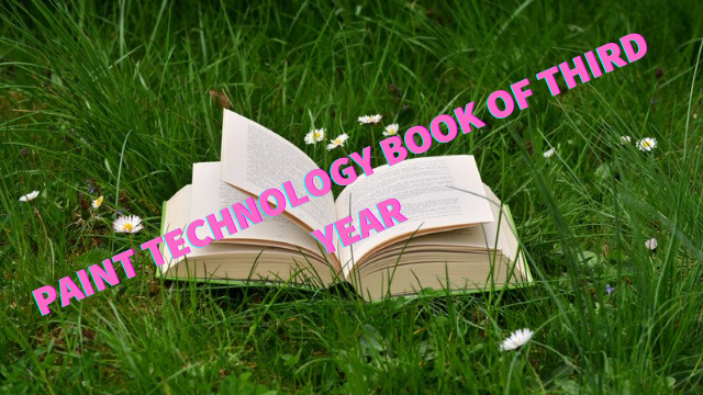 Paint technology Book 3rd year