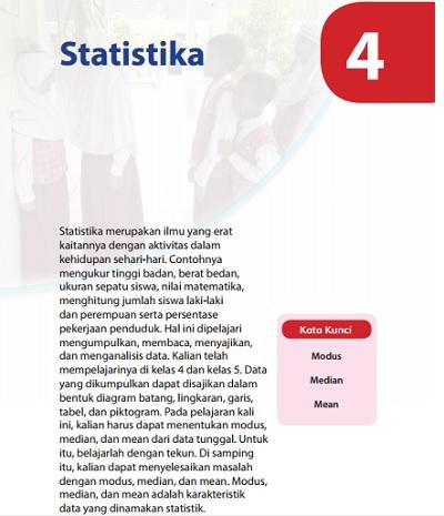 kunci jawaban matematika kelas 6 bab statistika
