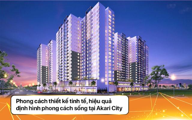 Ảnh tổng thể dự án Akari City