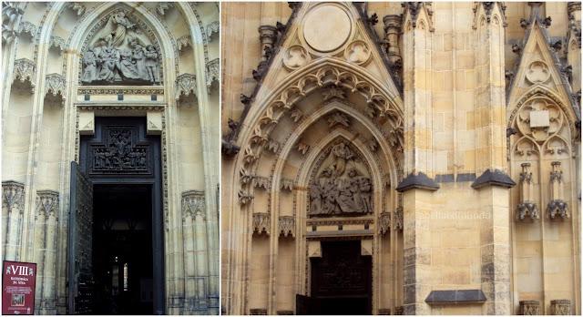 catedral s.vito - praga - a bella e o mundo - travel