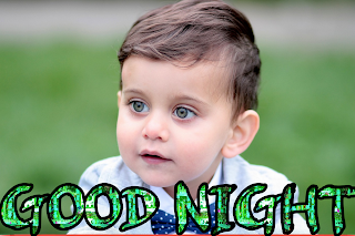 Good night baby image, good night baby wallpaper