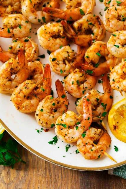Grilled Shrimp in Oven - 4