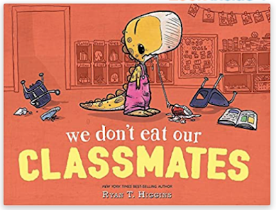 We Don't Eat Our Classmates - first day read aloud