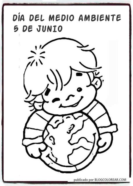 Dibujos día del medio ambiente para niños