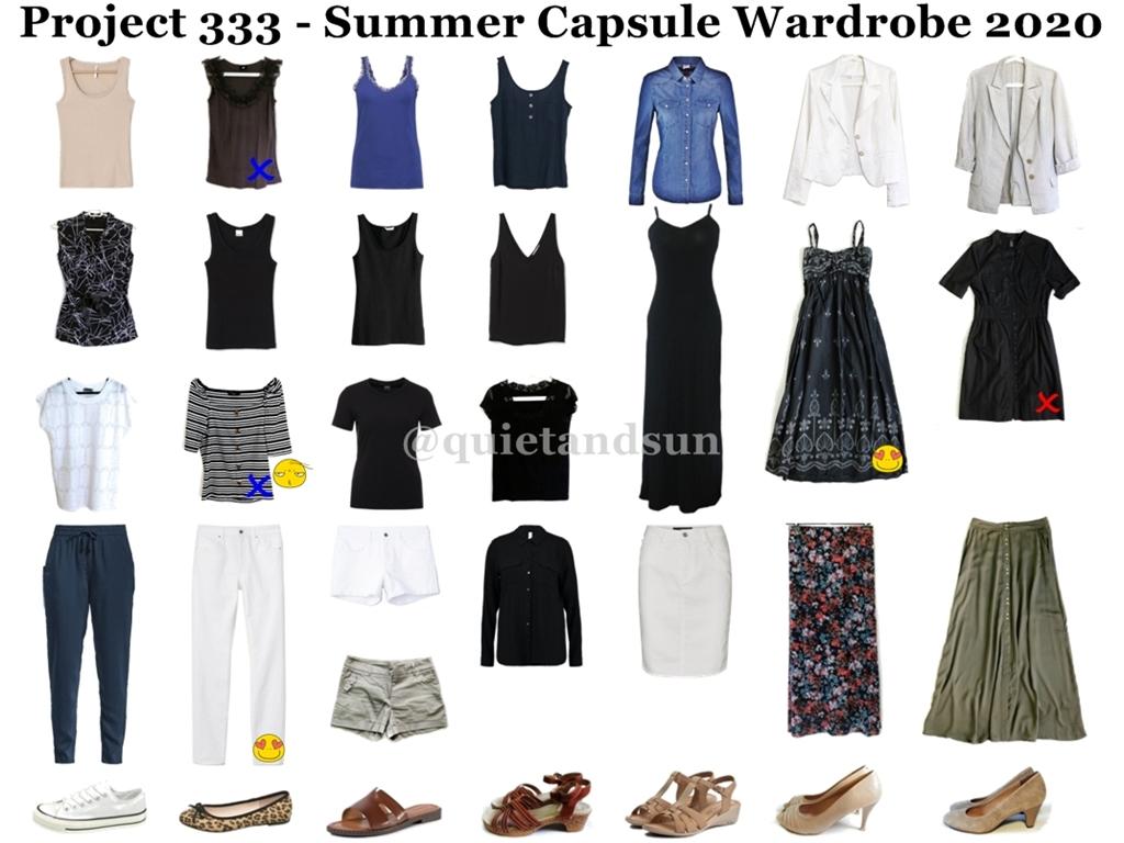 Summer Capsule Wardrobe 2020