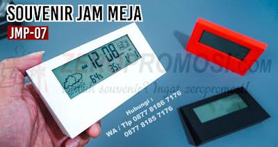 jual Barang Promosi Jam Meja JMP-07, Merchandise kantor jam meja JMP-07, Souvenir Jam meja JMP-07