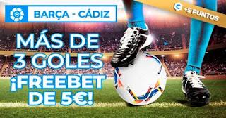 Paston promocion Barcelona vs Cadiz 21-2-2021