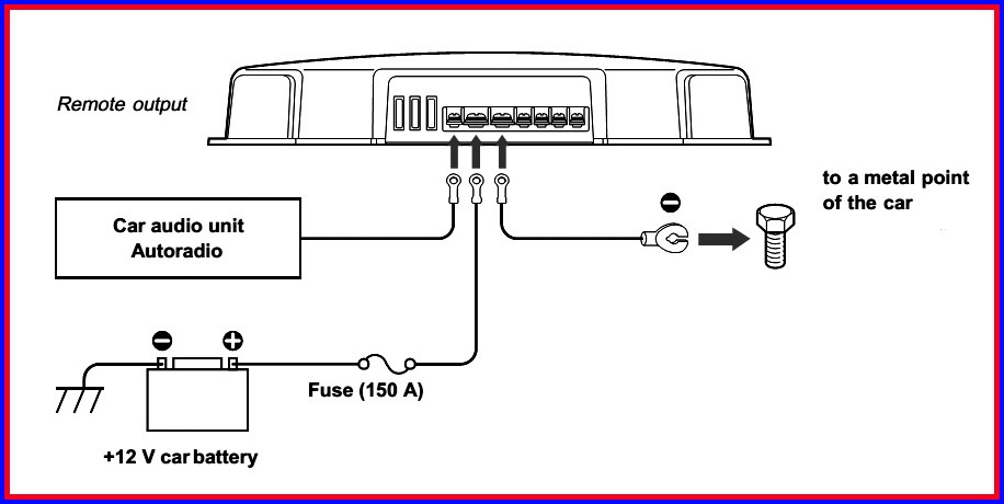Sony Xplod Amp Wiring Diagram  Somurich