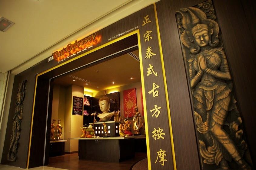 Johor Bahru massage Thai Odyssey