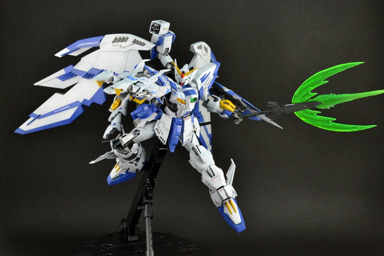 Build and Shoot: MG 1/100 EPYON BAI/ WHITE NATAKU: CUSTOM ...