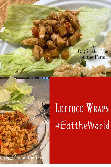 Lettuce Wraps pin