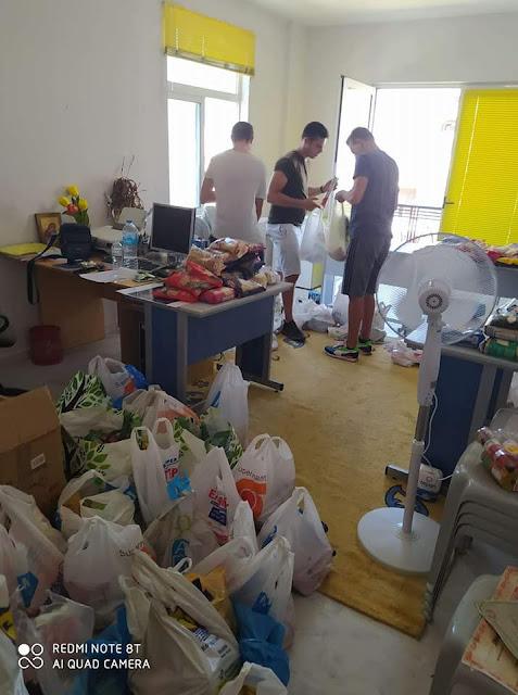Πύργος- Σύλλογος Νέων Καταραχίου: Έπαιξαν μπάλα και συγκέντρωσαν τρόφιμα και είδη πρώτης ανάγκης για τους άπορους συνανθρώπους μας (Photos)