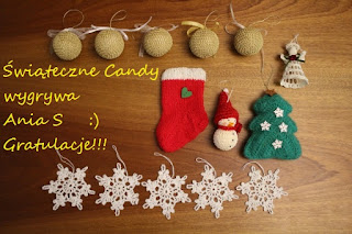 Wyniki świątecznego Candy :)