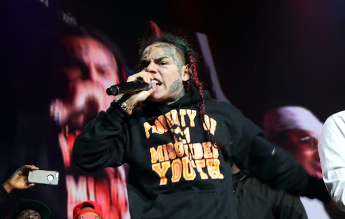 Tekashi 6ix9ine sued by victims of 2018 armed robbery