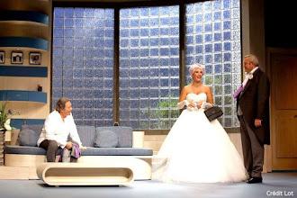 Théâtre : Mariage et châtiment de David Pharao - Avec Daniel Russo, Laurent Gamelon, Delphine Rich - Théâtre Hébertot
