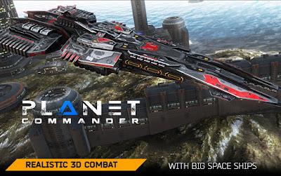Planet Commander Mod Apk Android Unlimited Money v1.1