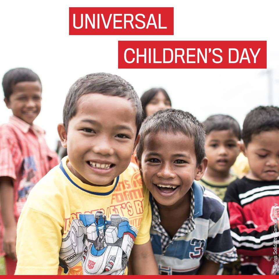 Universal Children's Day Wishes Images download