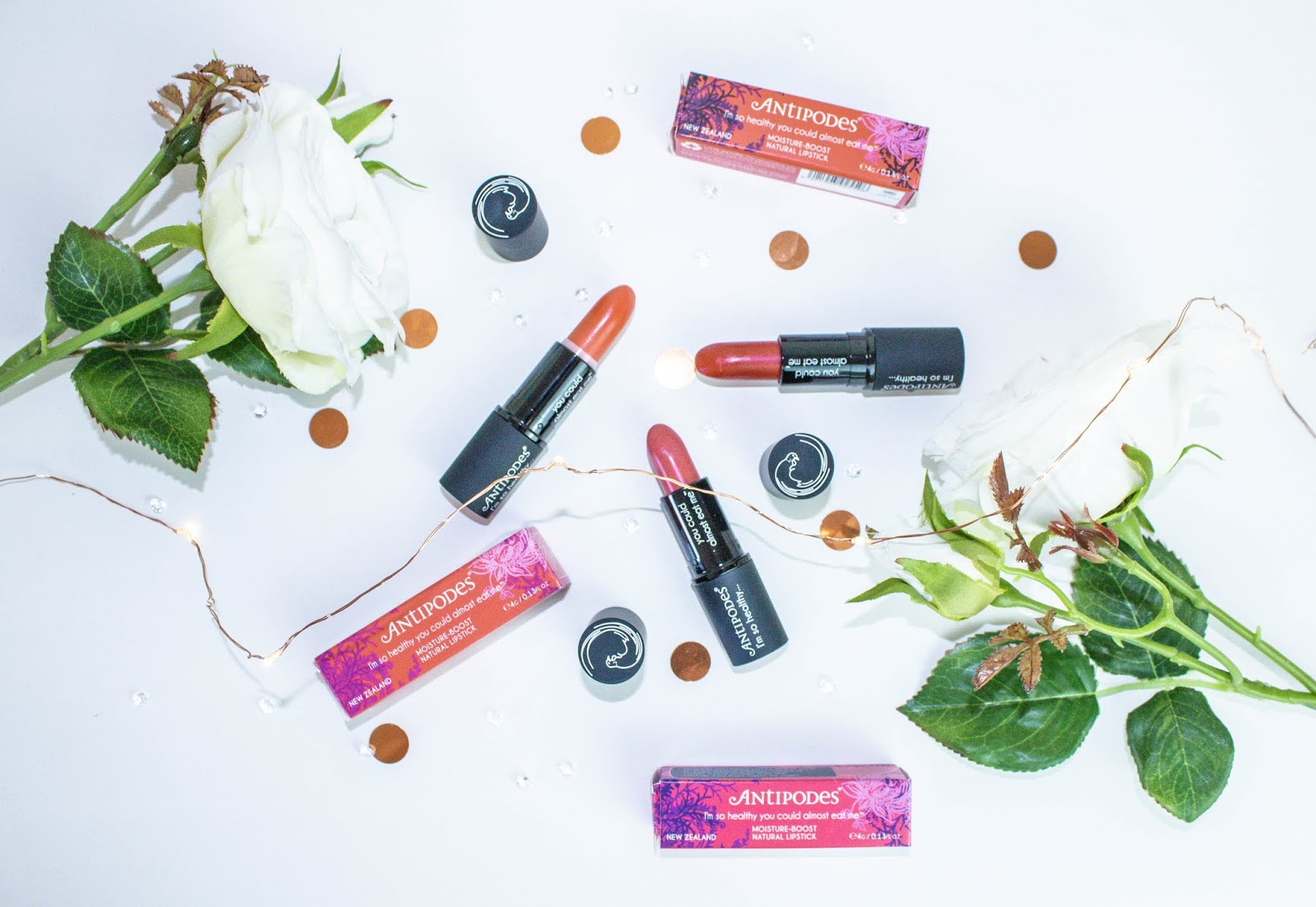 Antipodes Healthy Lipsticks Review