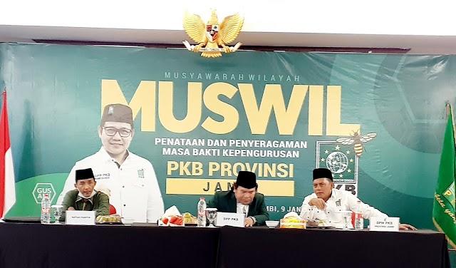 Sofyan Ali Kembali Emban Amanah Pimpin PKB Jambi