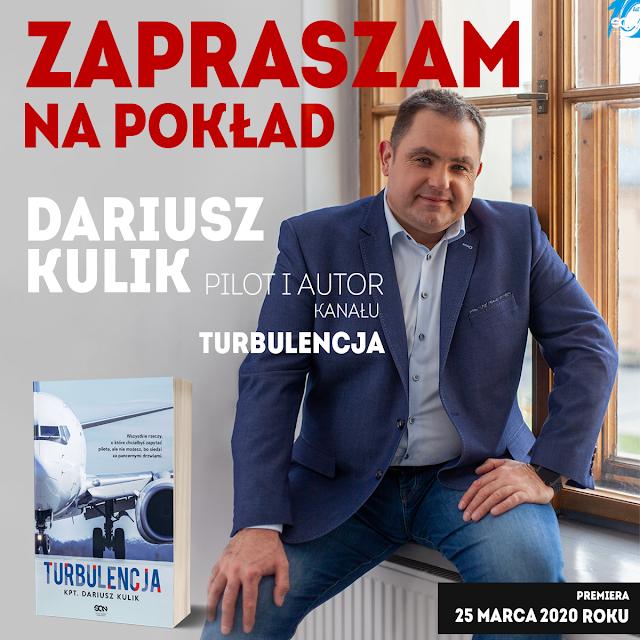 Zapowiedź: Wydawnictwo SQN: Dariusz Kulik - Turbulencja