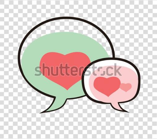 illustration vector logo chating