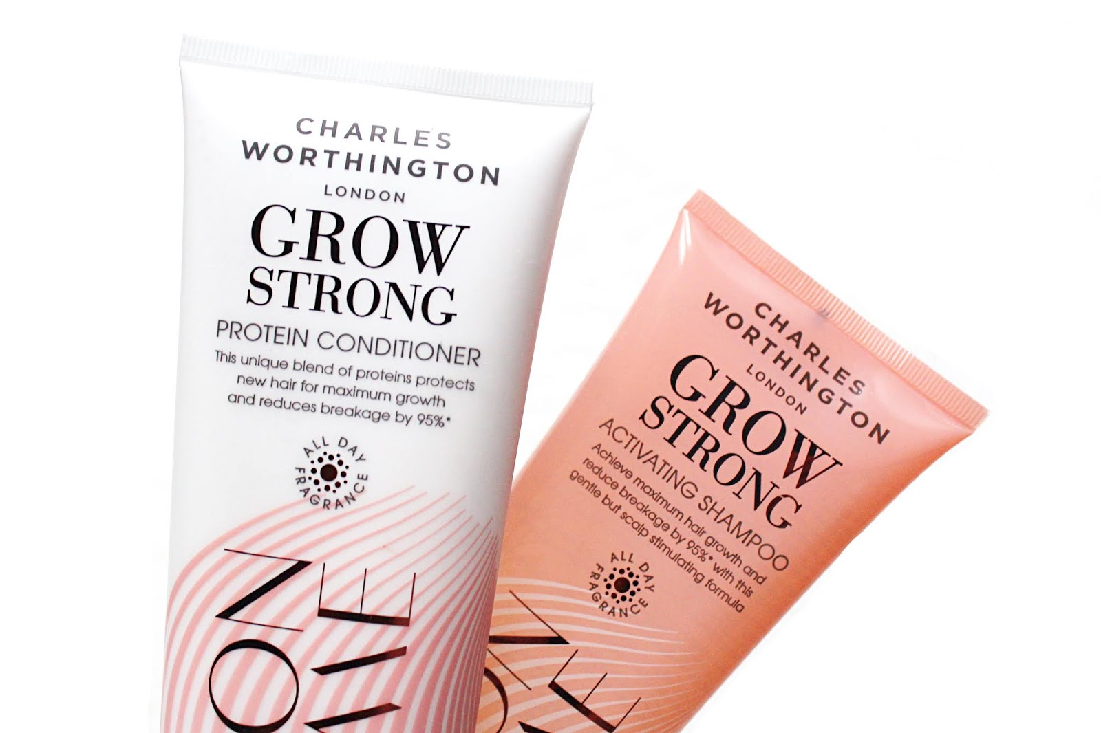 Charles Worthington Grow Strong Shampoo & Conditioner Review
