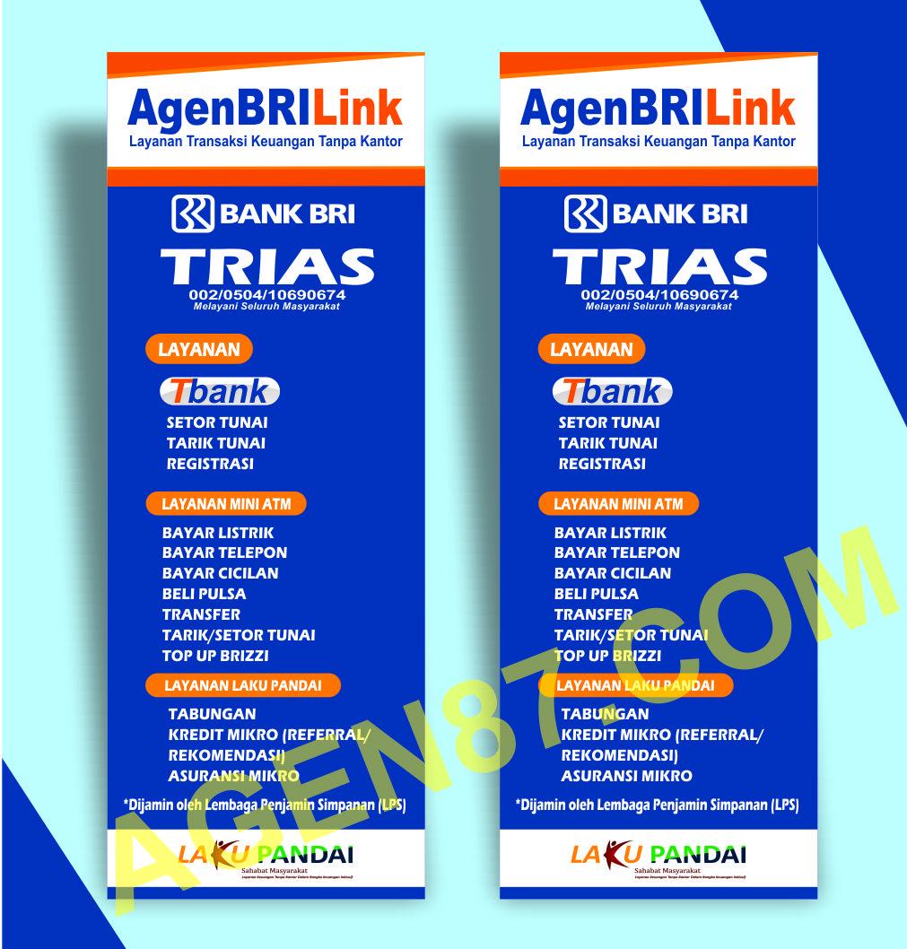 Spanduk BRI link & X banner BRI link Free Download CDR ...