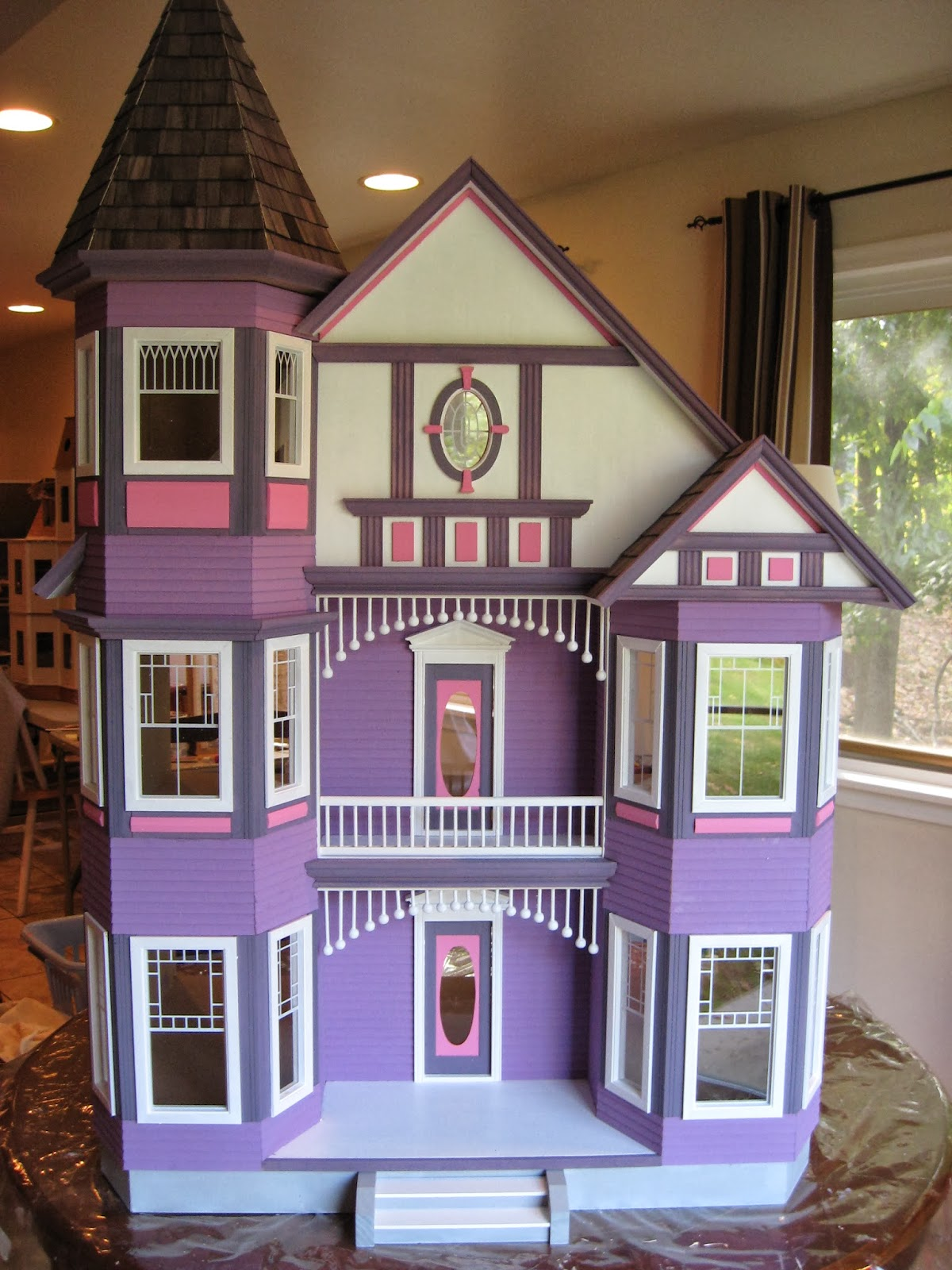 little darlings dollhouses  the painted lady dollhouse