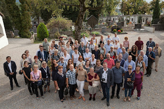 Group photo from the AGM 2018 in Innsbruck, Austria