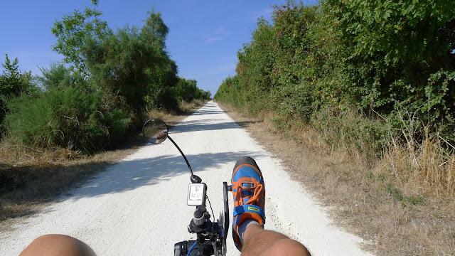 De Paris à la Rochelle en vélo couché