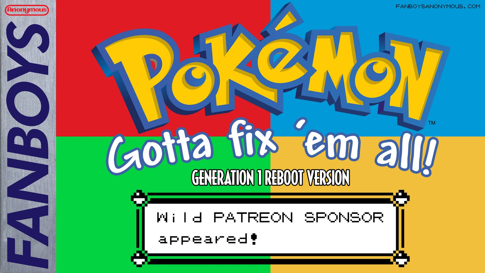 Fixing the problems of Pokemon Red Blue Yellow Green video games