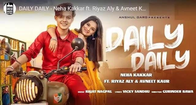 डेली डेली लिरिक्स Daily Daily Ladeya Na kar Lyrics in hindi- Neha kakkar