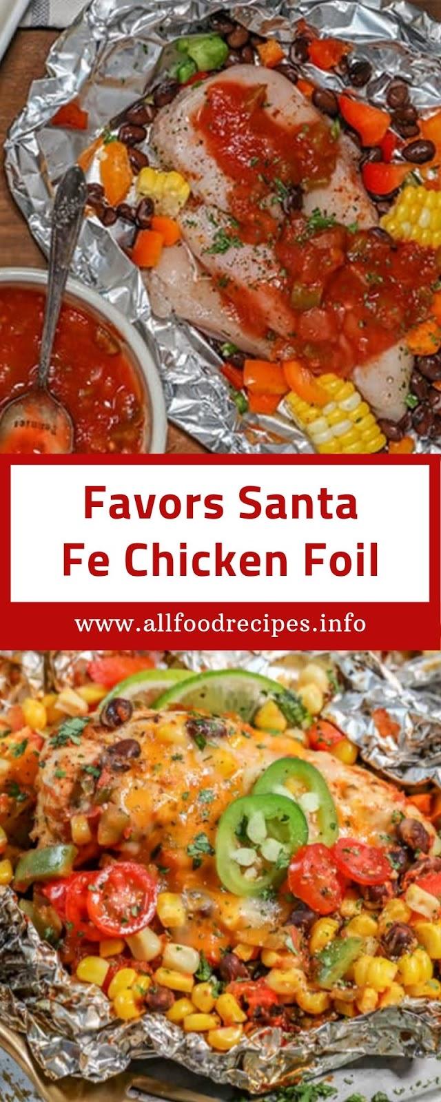 Favors Santa Fe Chicken Foil