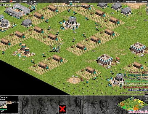 Lối chơi Age of Empires ở những đời