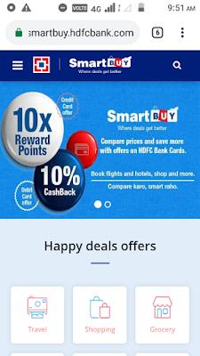 Smart buy hdfc