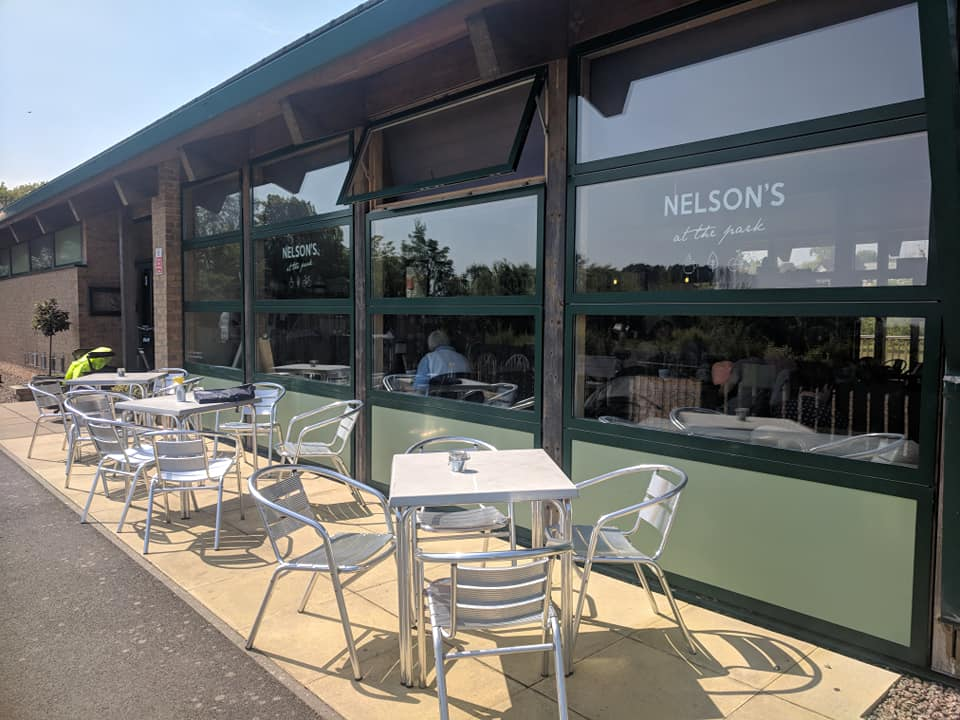 Nelson's at the Park, Swarland - Review  - outdoor seating