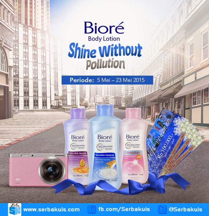 Kontes Shine Without Pollution Hadiah SAMSUNG NX mini