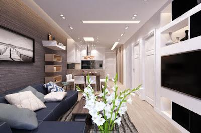 Thiết kế nội thất phòng khách sang trọng, tinh tế