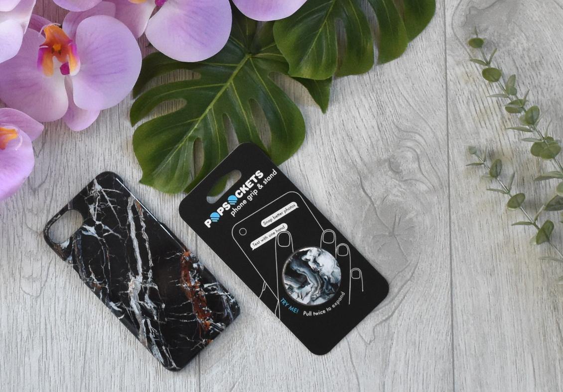 Stylischer Schutz fürs Handy - PopSockets Marmor Design