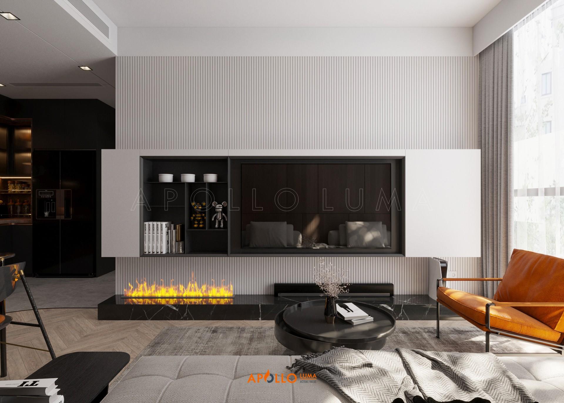 Thiết kế nội thất căn hộ 3PN  (Dual Key A08) The Matrix One Mễ Trì