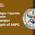 MoD signs tripartite MoU with IIT Kanpur and Deptt of ARPG