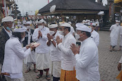 Karya Pujawali Ngusaba Kedasa di Pura Ulun Danu Batur