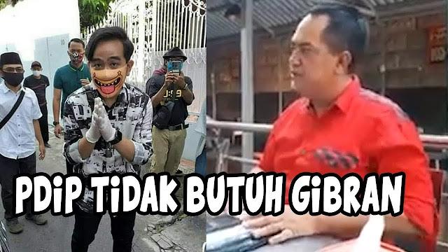 Viral Seruan Relawan Jokowi: Solo Gak Butuh Gibran!