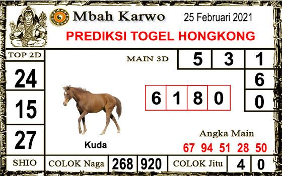 Prediksi Mbah Karwo Hk Kamis