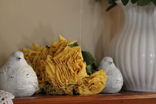 Dried Yellow Roses, Turtle Doves, Living From Glory To Glory Blog...
