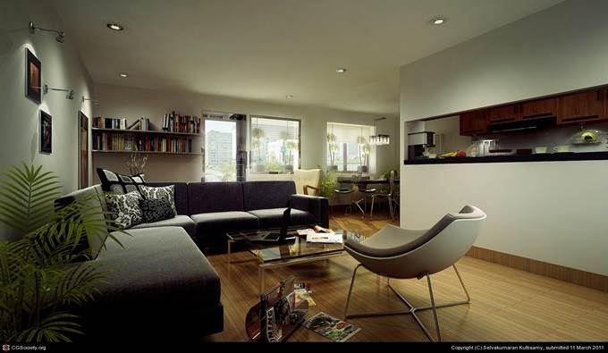 Living Room by Selvakumaran Kuttisamy