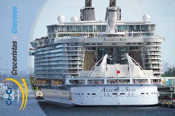 ► SABÍAS QUE... - ¿El barco más grande del mundo (ALLURE OF THE SEAS) prepara unas 220.000 comidas en una semana?